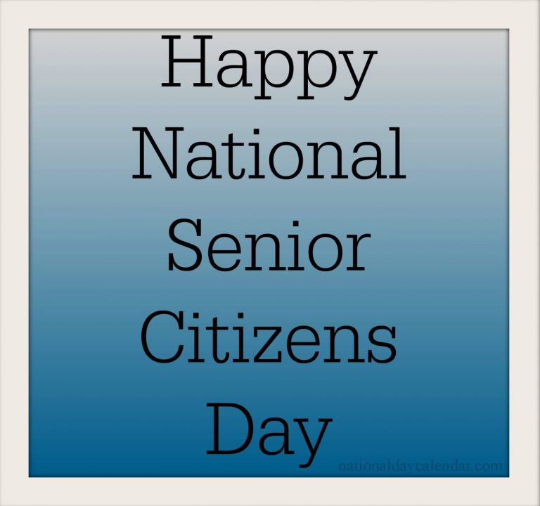 Happy National Senior Citizens Day Greetings