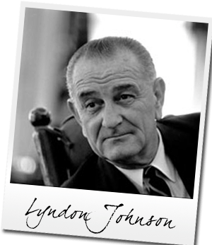 Lyndon Baines JOhnson Day With New Wishes