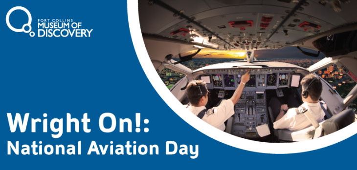 National Aviation Day With Aeroplane Iner View