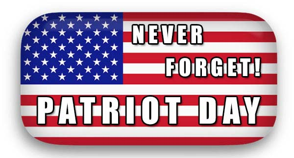 Never Forget Patriot DAy With Star