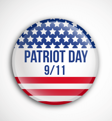 Patriot Day Round shape Image