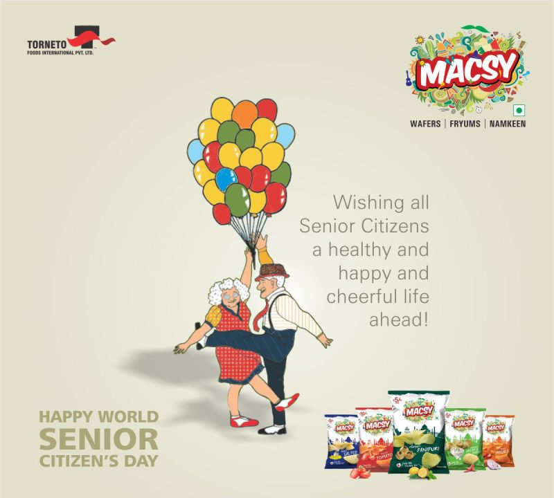 Wishing All Senior citizens a healthy and happy