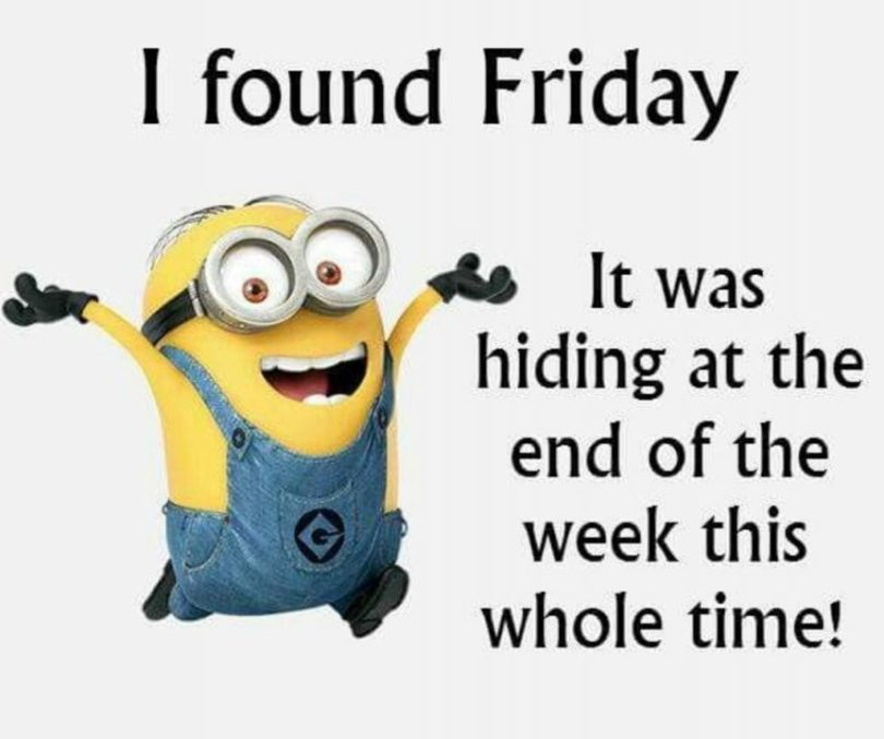 friday quotes for facebook i found friday it was hiding at the end of the week