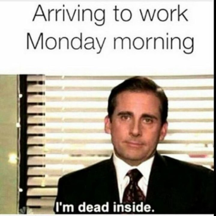 Charming Monday Memes With Office Man