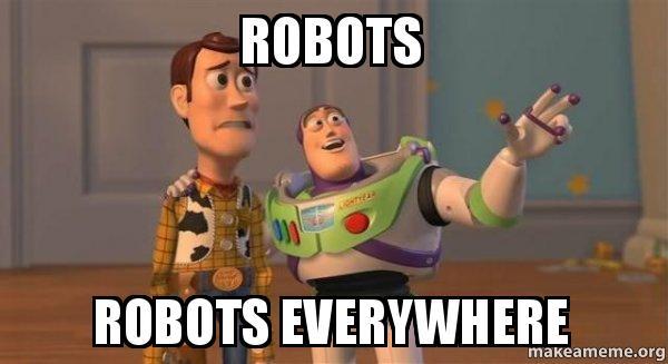 Popular Robots Memes