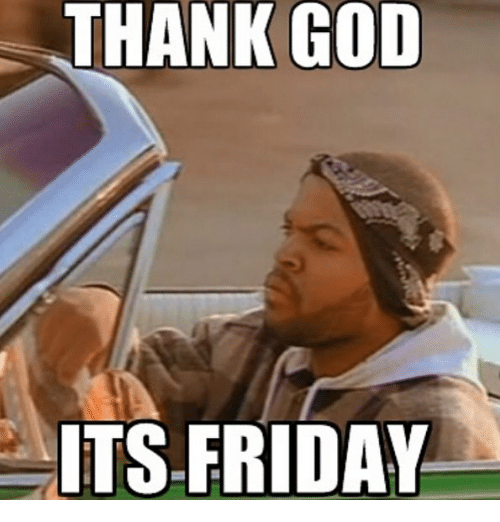 Thank God Its Friday With Friday Cast
