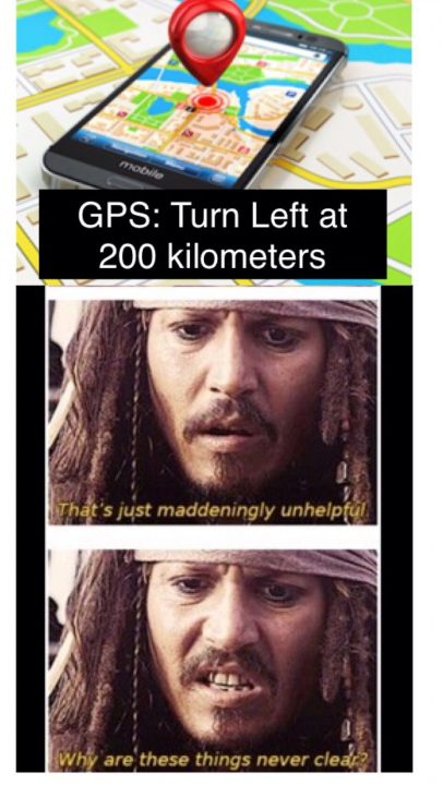 Turn Left At 200 Kilometers