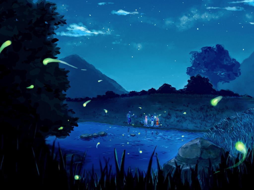 Cute Baby Girl Hd Wallpaper Download Desktop Wallpaper Naruto Shippuden Anime Outdoor Night