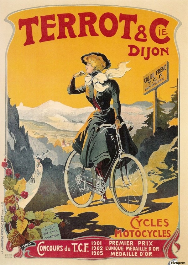 Vintage French Bicycle Advertisements