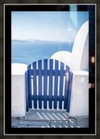 Blue door - Fabien Dormoy Canvas