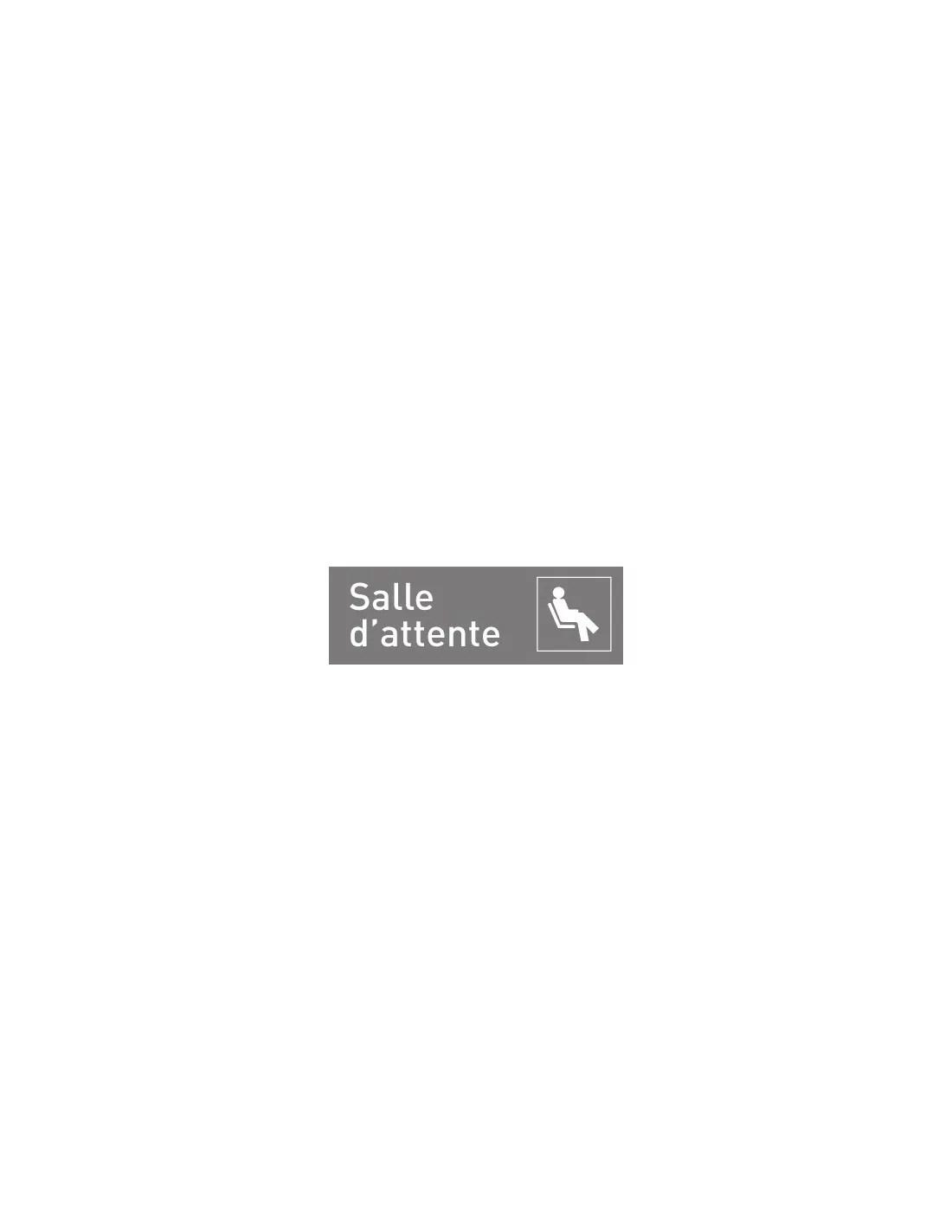 Panneau Salle Dattente Signalisation Et Affichage