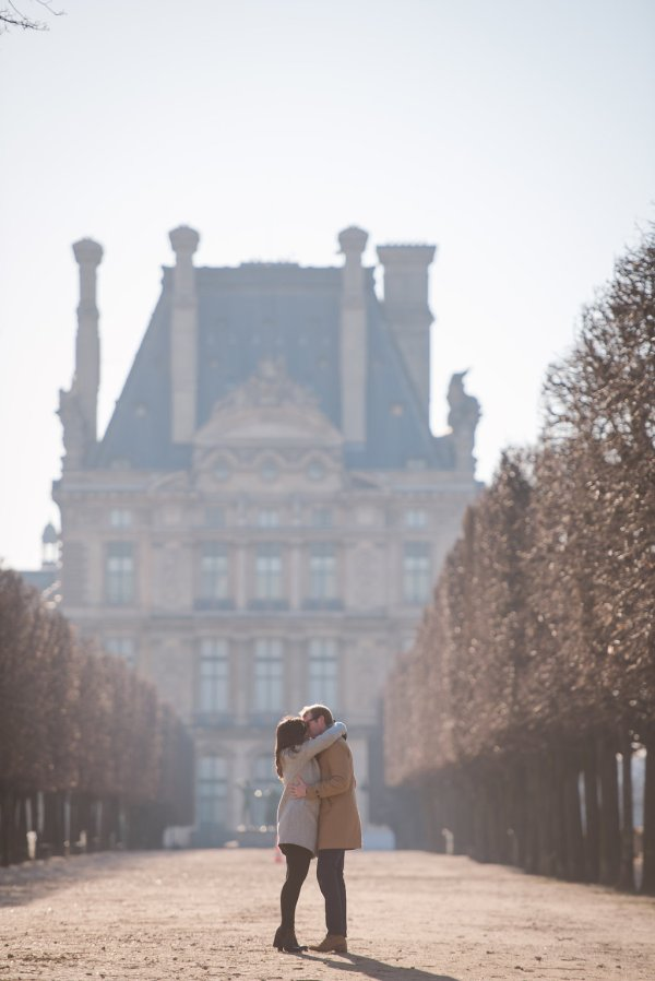 Early Morning Tuileries Garden Proposal - Pictours Paris