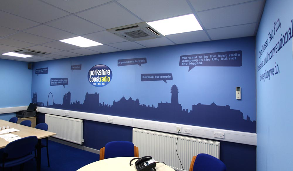 Yorkshire Coast Radio Custom Wallpaper Pictowall