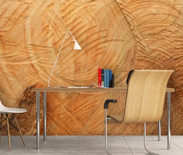 Wood Effect Wall Mural