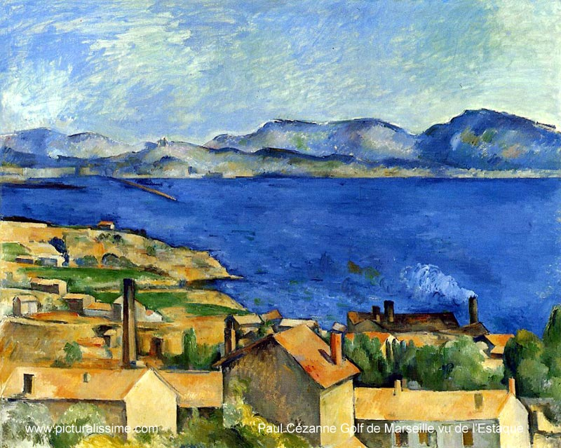 Paul Cézanne Golf de Marseille vue de l'Estaque