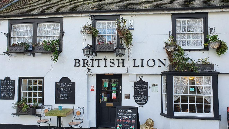 Pub British Lion in Folkestone Foto