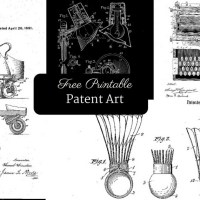 How To Make Free Printable Patent Art