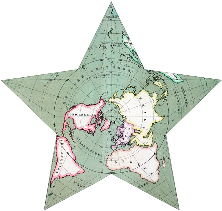 Hermann_Berghaus-world-map-star-1880