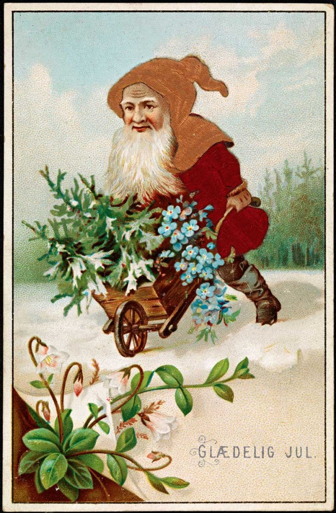 Norwegian_Christmas_Card with gnome