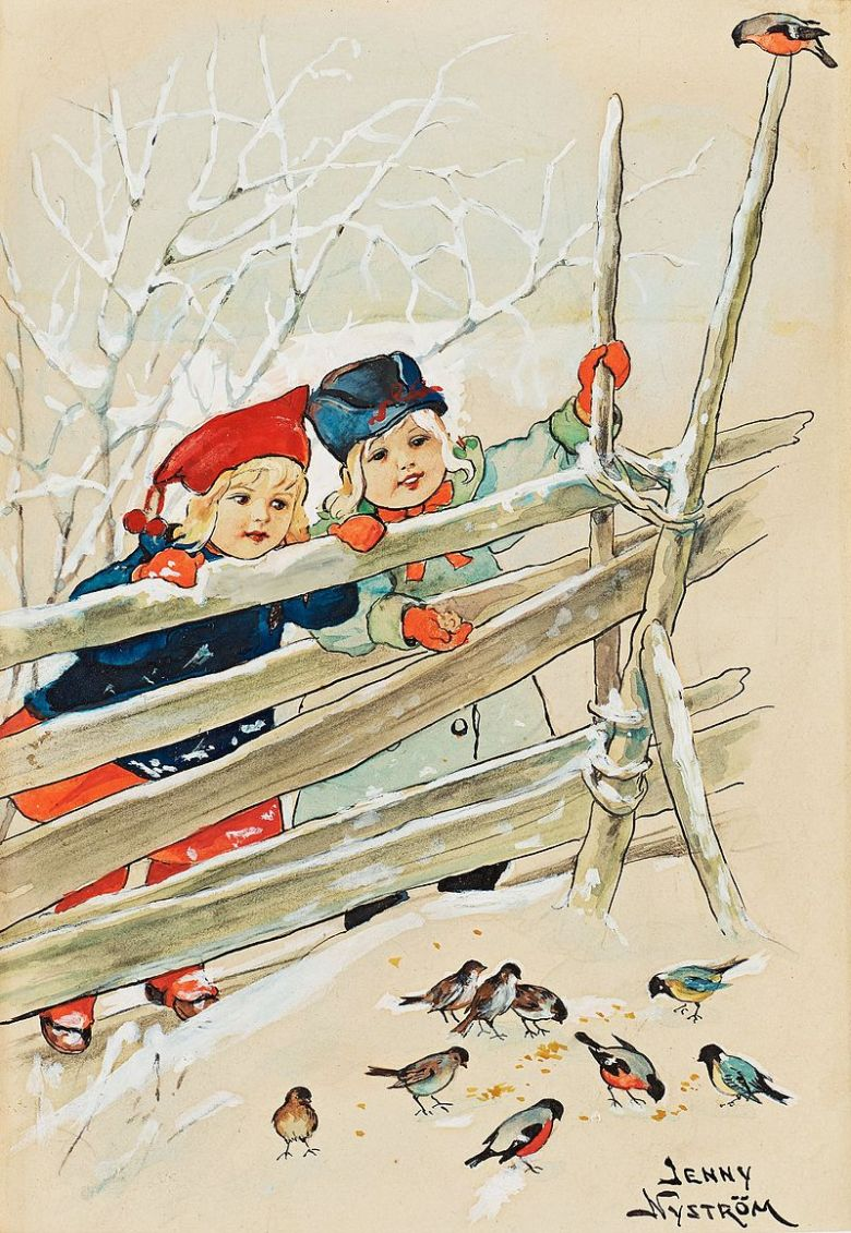 Vintage Scandinavian Christmas Cards