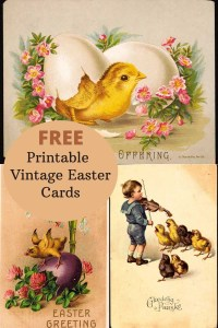 Cute vintage Easter Postcards