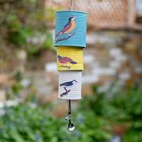 How To Make A Decoupage Tin Can Wind Chime