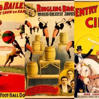 Colorful And Fun Free Vintage Circus Posters To Download