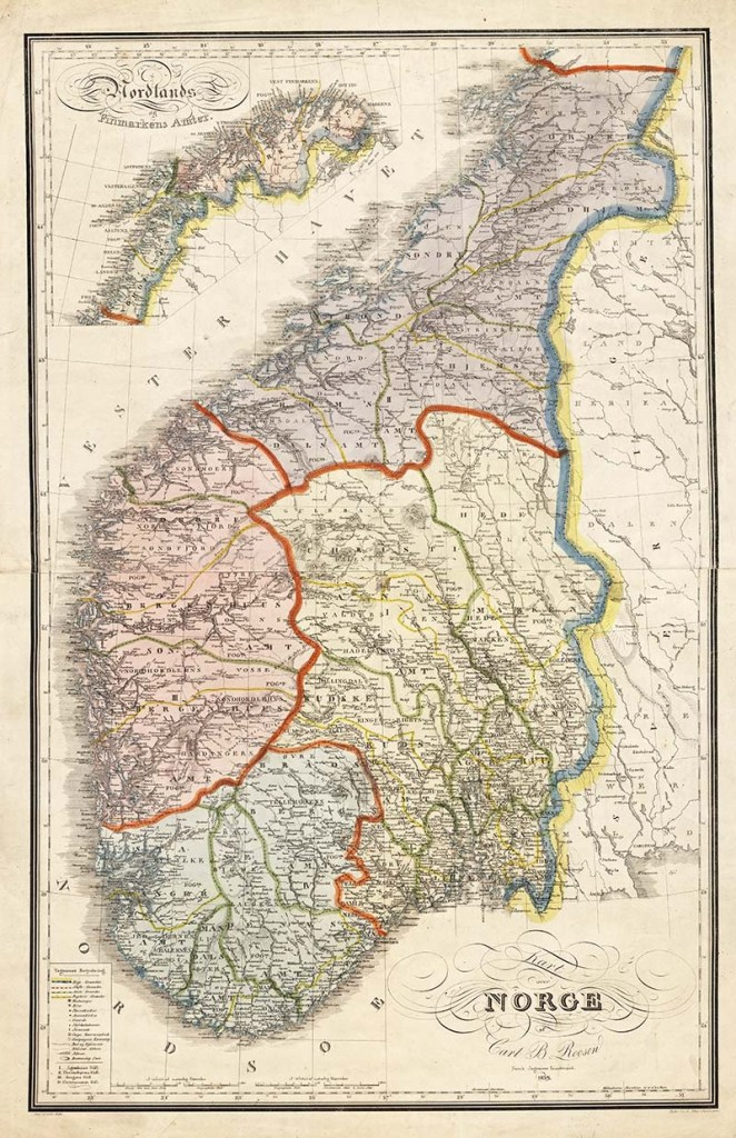 old maps of Norway to download