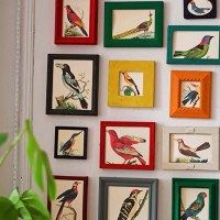 How To Make A Gallery Wall From Old Picture Frames