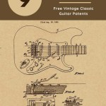 Classic guitar patents to print