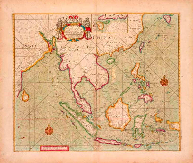 Map of Eastern most part of Asia