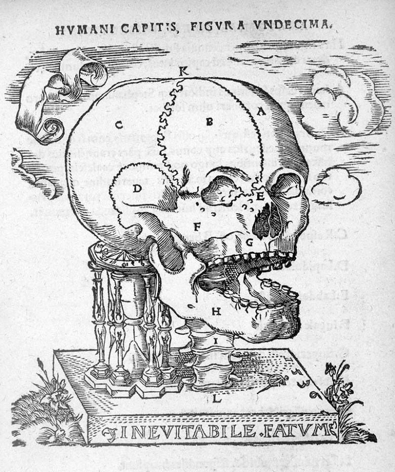 Skull and Hour glass