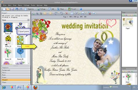 Step6 Save And Print This Personalized Marriage Invitation Card