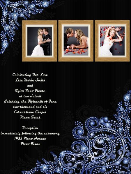 Wedding Invitation Add On Templates Pack