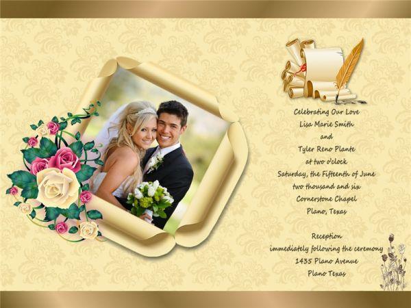 Wedding Invitation Card Addon Templates  Download Free