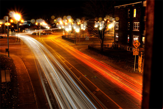 tutorial on light trail photos