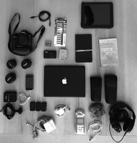 professional camera setup
