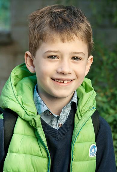 boy school portrait