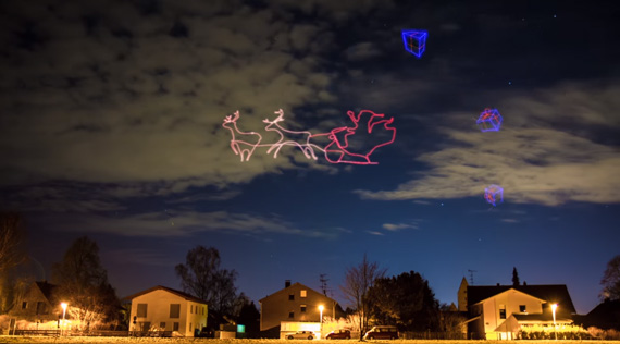 camera drone light painting