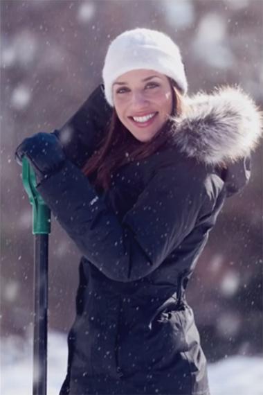 adding snow to photos