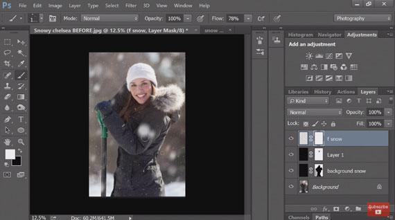 photoshop blur filter