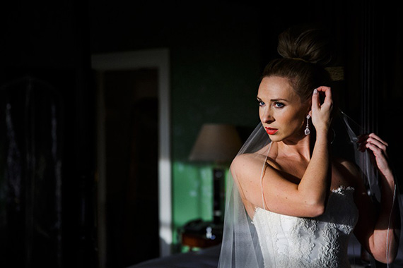 watching for light in wedding photos