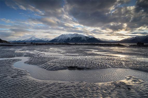 exposure blended landscape
