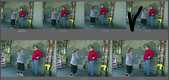 street scene photography