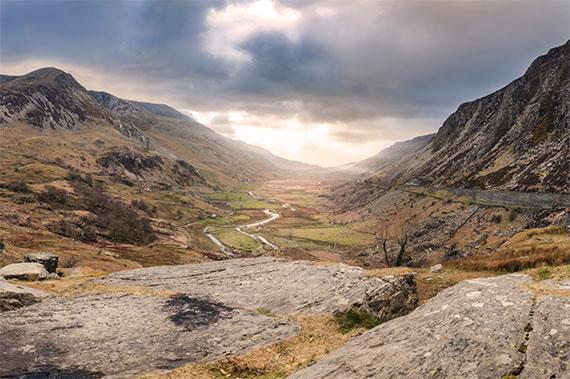 how to photograph a landscape