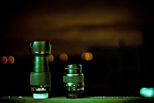 zoom versus prime lens