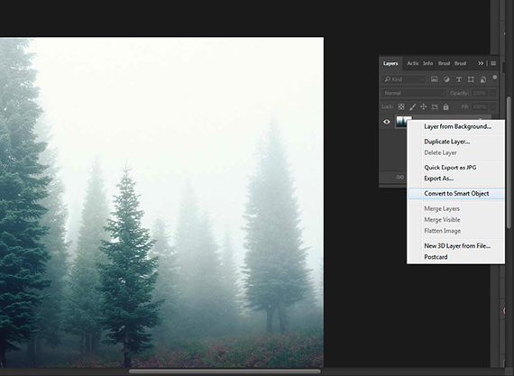 post processing fog photography