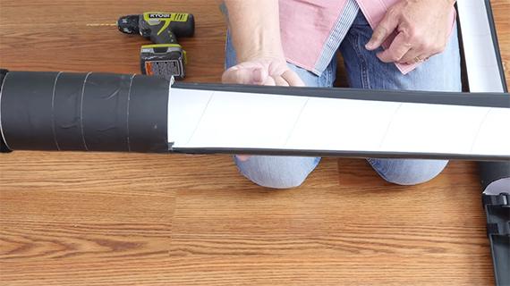 DIY light saber strip light