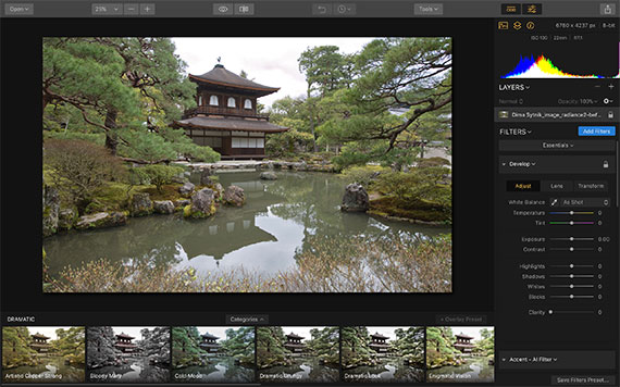 how to edit travel photos