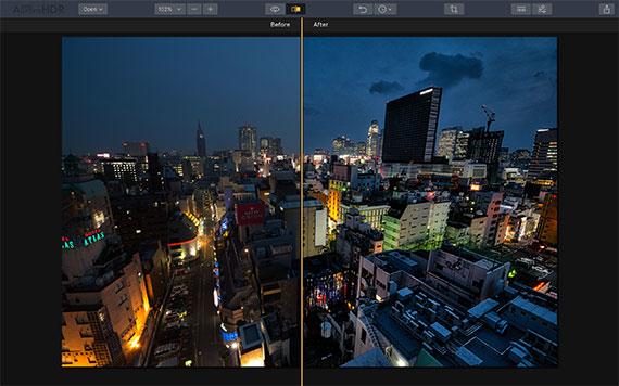 cityscape preset adjustment